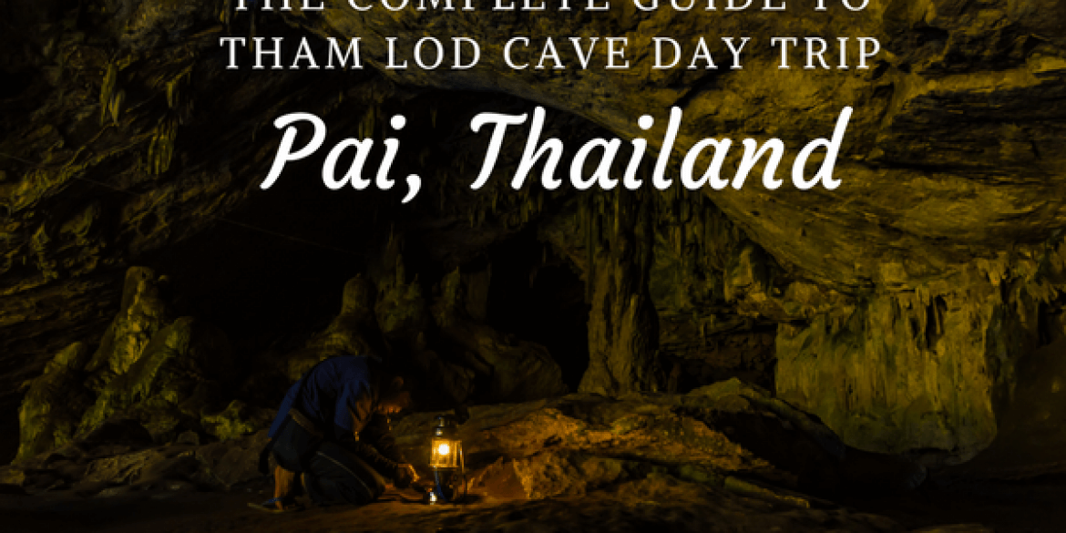 Tham Lod Cave and it's spectacular Lantern Tour, Thailand  -