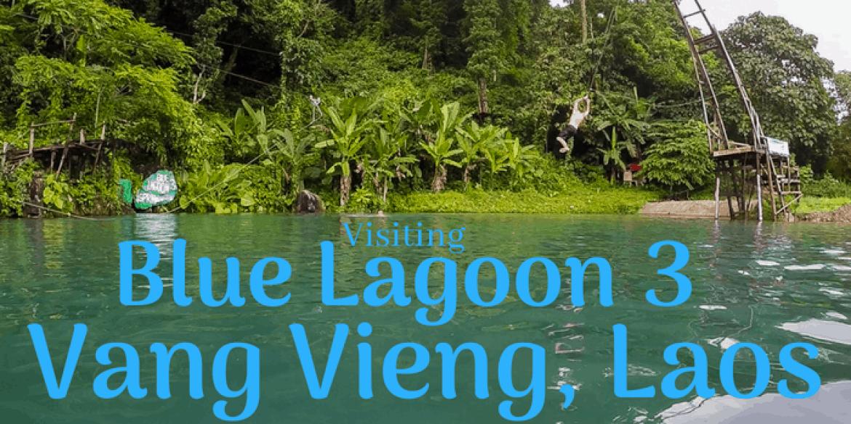 how to visit blue lagoon 3 vang vieng laos