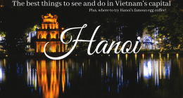Where to stay and what to do in Hanoi – Vietnam